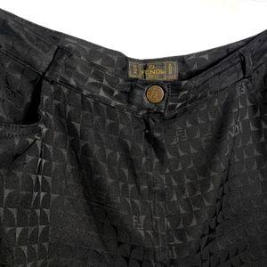 ⚡️SALE⚡️FENDI FF Logo Vintage Pants